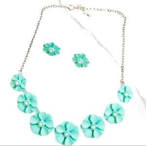 ARDENE. Jewellery set. Mint. Floral.